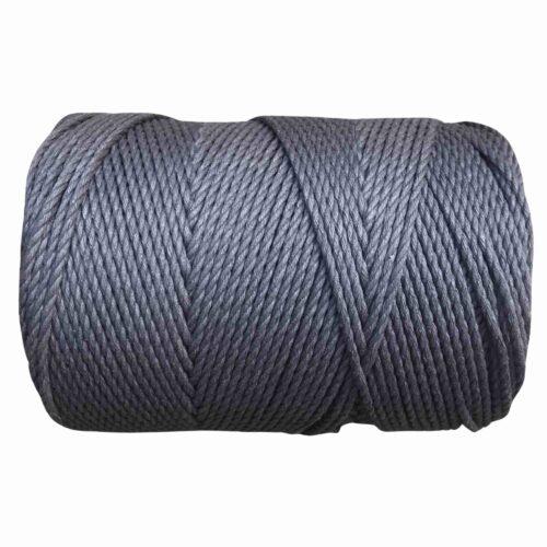 macrame rope 3mm DARK GREY