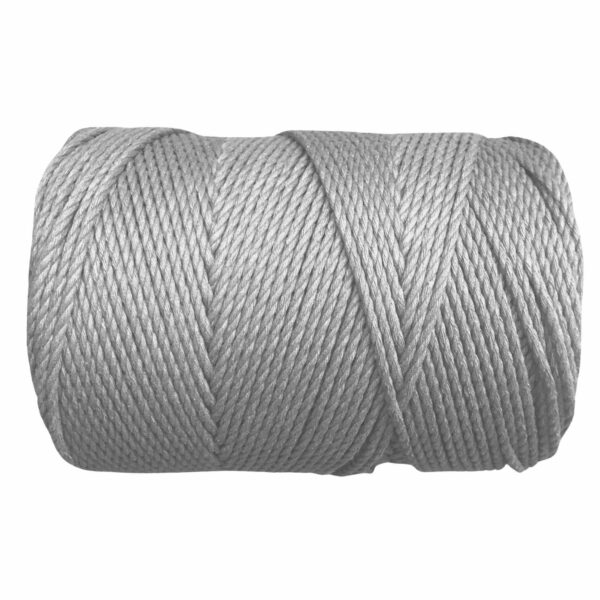 macrame rope 3mm LIGHT GREY