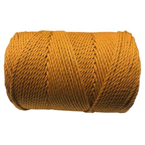 macrame rope 3mm MUSTARD