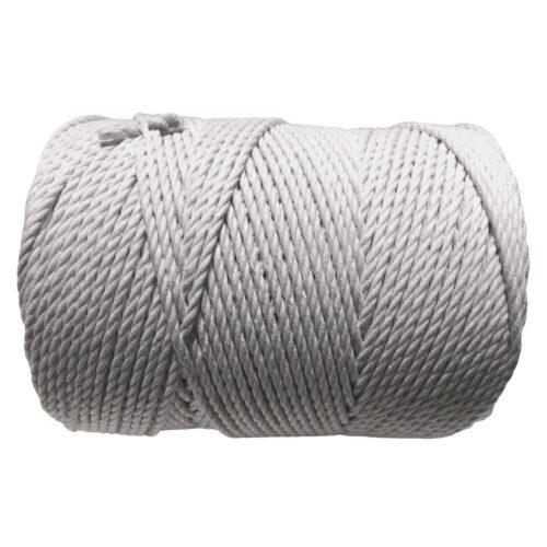 macrame rope 3mm WHITE