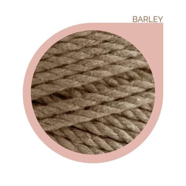 macrame rope cord beige cream natural