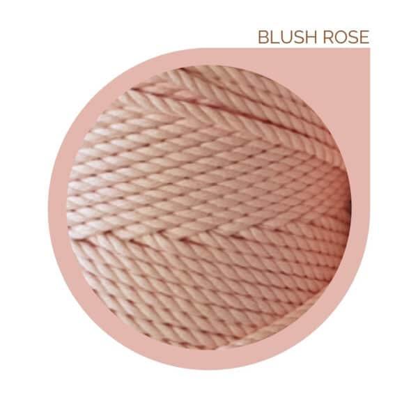 MACRAME ROPE BLUSH PINK
