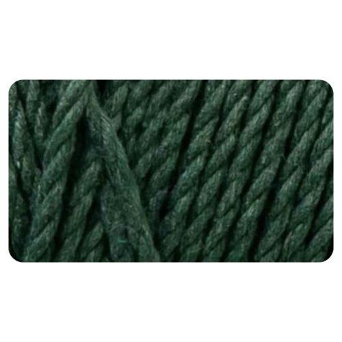 macrame rope cord dark green