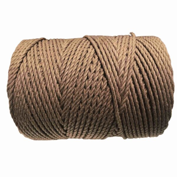 macrame rope 4mm TAUPE