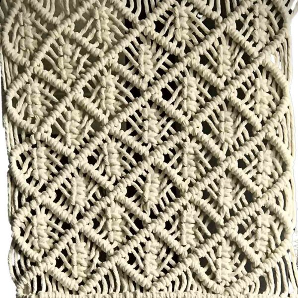 Macrame Cushion Joshua detail