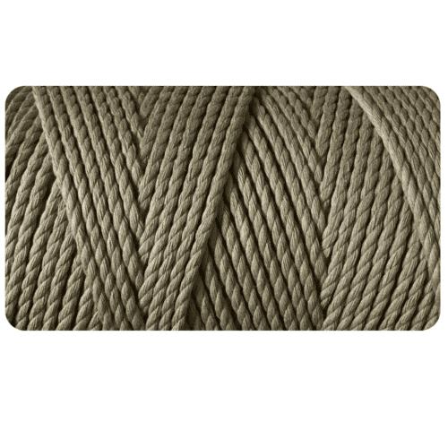 macrame rope 3ply 3mm Eucalyptus