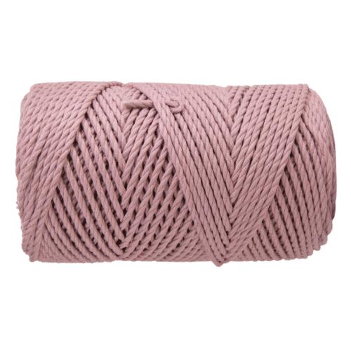 3mm macrame rope dusty pink
