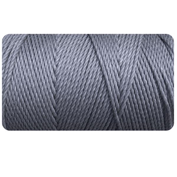 macrame rope 4mm DARK GREY